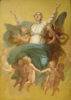Pierre-Paul Prud'hon -Assomption de la Vierge