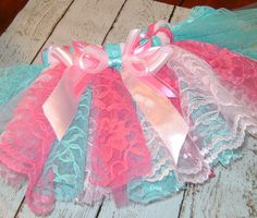 Lace Tutu by BibsandBurps on Etsy
