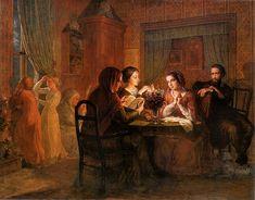 Poeme de l'ame 6: Le Toit paternel, Louis Janmot