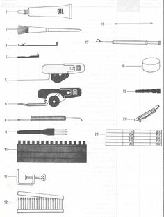 PASSAP KNITTING MACHINES - INCLUDING PARTS AND SERVICE