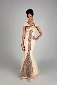 South African Traditional Wedding Dresses