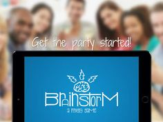 Brainstorm a party game - social game