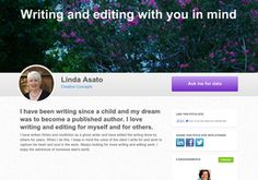Writing and editing with you in mind. Check me out.