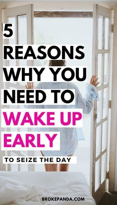Wake up early and get more done. These tips will literally change your life for the better. If you ever wanted to seize the day, this is seriously the way to do it.