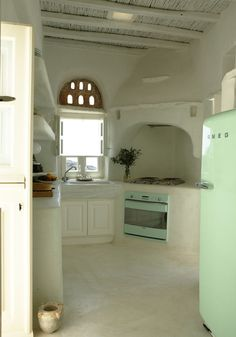 Adobe Home in Tinos, Greece