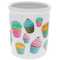 Frosted Cupcakes Ceramic Kitchen Crock Vintage Style 60 oz. VV http://www.amazon.com/dp/B00N28WO9M/ref=cm_sw_r_pi_dp_Vu1Avb1F5ZR0F