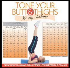 Lose Baby Weight's Tone Your Butt