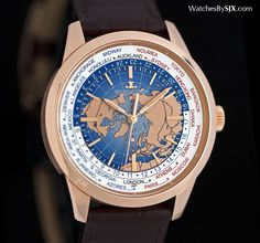 Watches By SJX: Up Close with the Jaeger-LeCoultre Geophysic Unive...