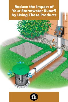 Reduce the Impact of Your Stormwater Runoff by Using These Products Crushed Granite, Pet Urine, Waste Disposal, Rain Garden, Septic Tank, Pressure Washing, Landscaping Tips, Cool Plants