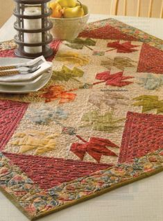 Splendor In Fall Quilt Pattern Pieced TM