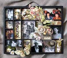 I want to make one of these, but without the embellishments that will hold lots of dust.