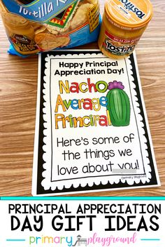 Do you need some easy gift idea for Principal Appreciation Day? Come check out our easy and inexpensive gift ideas to celebrate them!