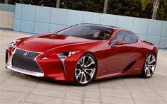 Lexus LF LC concept is sweet looking!