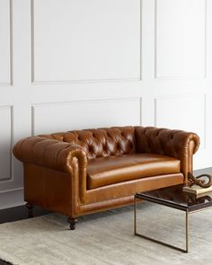 Davidson+Slab-Seat+Chesterfield+Sofa+by+Massoud+at+Horchow.