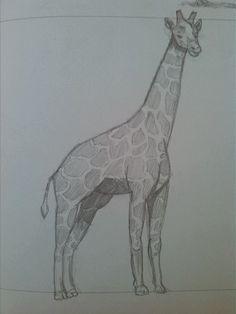 Giraffe (dessin)