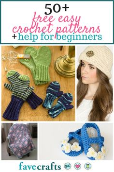 Beginners can learn how to crochet with this collection, 50+ Free Easy Crochet Patterns and Help for Beginners. Discover how easy it is easy to find crochet patterns for beginners that look absolutely amazing.