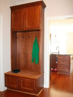 Locker style drop zone entry by DanRic Homes