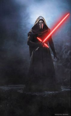Star Wars Art Discover Kylo Ren by Maksym Rudek - animated by me jose MedinaGarcia sent this image to me and I liked it so much I thought Id animate it so here it is - enjoy and dont forget to save save save :) Vader Star Wars, Star Wars Kylo Ren, Star Wars Fan Art, Star Wars Clone Wars, Darth Vader, Star Wars Pictures, Star Wars Images, Star Wars Wallpaper Iphone, Kylo Ren Wallpaper