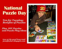 The Good Long Road: Ten for Tuesday: National Puzzle Day! Play, Learn + Love Puzzles