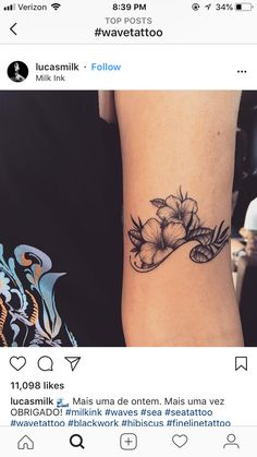 3e6b7de7d4d1b Cute Tattoos, Beautiful Tattoos, Small Tattoos, Girl Tattoos, Wrist Tattoos,  Body