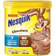 Nestle - Nesquik Bebida sabor a chocolate, 532 gr.