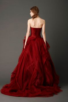 Red Wedding Ideas - Red Wedding Dress