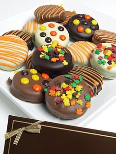 images of chocolate covered oreos cookies | Fall Decorated Chocolate-Covered Oreo® Cookies | OREOS