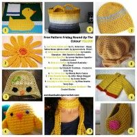Free Crochet Pattern Friday – The Colour Yellow March 7, 2014 ~ 1 Comment