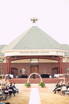 duluth festival center wedding ceremony gorgeous venues outdoor wedding arbor wedding