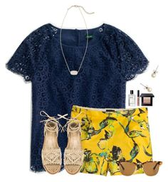 """Who likes Bruno Mars and what is your fav song of his?"" by flroasburn ❤ liked on Polyvore featuring J.Crew, Paloma Barceló, Kendra Scott, Bobbi Brown Cosmetics and Ray-Ban"