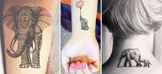 26 Trendy Elephant Tattoos That You Will Totally Fall In Love With