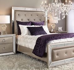 Regal Retreatclick To Get The Look  Spring 2015 Collection Alluring Silver Bedroom Decor Decorating Inspiration