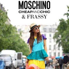 Photo by frassyaudrey  #moschino #mymoschino #cheapandchic #colorful #dress