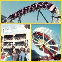 Tivoli Park - Lagoa - Rio de Janeiro 80's - Rotor - Montanha Russa - Trem Fantasma