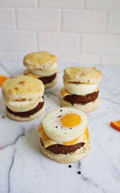 Buttermilk Biscuit Breakfast Sandwiches