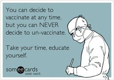 Exnay on vaccinations