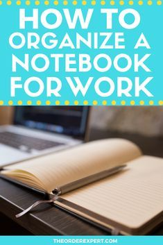 Office Organization At Work, Notebook Organization, Office Ideas, Time Management Tools, Project Management, Work Productivity, Presentation Folder, Professional Development, Personal Development