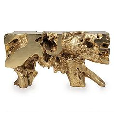 Sequoia Console Table from Z Gallerie - All About Decoration Affordable Modern Furniture, Affordable Home Decor, Unique Furniture, Home Decor Furniture, Living Room Furniture, European Furniture, Gold Leaf Furniture, Dining Room Inspiration, Stylish Home Decor
