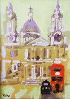 I have just published ST PAULS on Artfinder