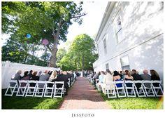 Topsfield Commons Wedding Ceremony Photos
