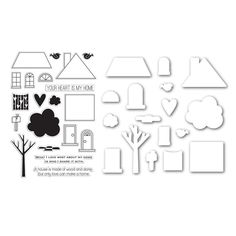 Simon Says Dies and Stamps LOVE MAKES A HOME SetLM169 Better Together --$34.99 (!)