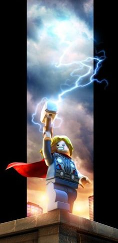 LEGO Thor -- New Character Images and Concept Art for LEGO Marvel Super Heroes | Superhero Hype