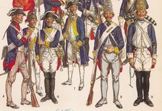 MILITARY MINIATURES by Alfons Canovas: Soldiers of the American Revolution 1775-1783. Source = -. Liliane and Fred Funcken.