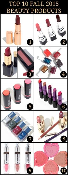 My Top 10 Fall 2015 Beauty Products