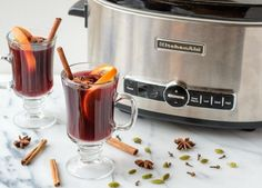 Slow Cooker Hot Spiced Wine
