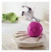 hand print soap dish