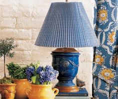 missing Pierre Deux:( I love this Anduze Lamp French Country Cottage, French Country Style, French Farmhouse, French Decor, French Country Decorating, Gothic Wallpaper, Yellow Cottage, Cottage Design, Decoration