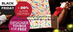 Black Friday Deal op Fun Factory loveware