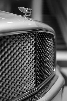 One mean Bentley grill.                                                                                                                                                                                                                                                                                                                                                                               ❤Wheels�❤