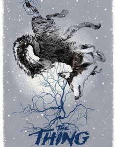 #TheThing alternative poster by Greg Ruth. #horror #movie #art